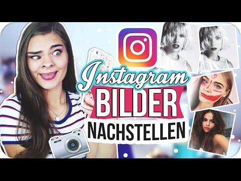 INSTAGRAM BILDER NACHSTELLEN! + Photoshop Hacks // I