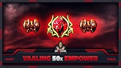 """[PATH OF EXILE] – VAALING 50x """"EMPOWER SUPPORT"""" LVL 3 GEM – LEVEL UP PLEASE!"""