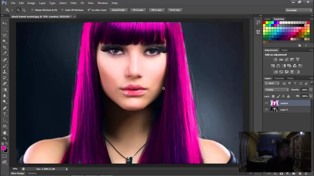 [TUTORIAL] Teknik Dasar Brush Tool Dalam Adobe Photoshop CS6
