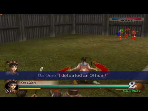 Dynasty Warriors 3 - All 'Officers Defeated' Quote