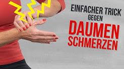 Nie mehr Rhizarthrose / Daumenschmerzen – So einfach wirst du sie los!