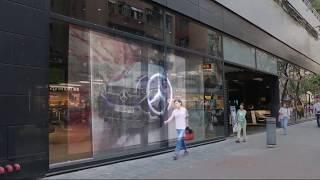 YIPLED Transparent LED Display - Mercedes-Benz Hong Kong - jade screen screenshot 3