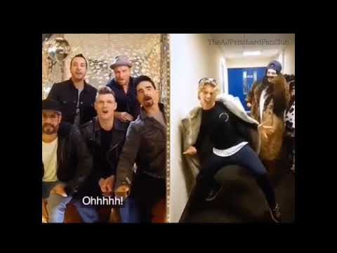 AJ PRITCHARD & LAUREN STEADMAN Backstreet Boys