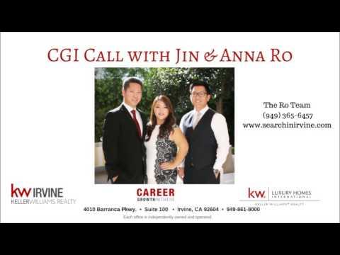 Keller Williams CGI Call with Jin & Anna Ro - Irvine, CA