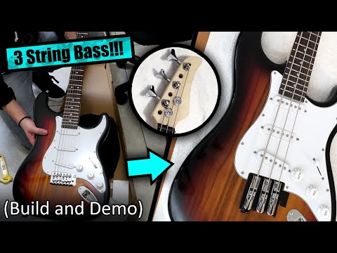 Guitar To Bass Conversion (...and Tone Demo)