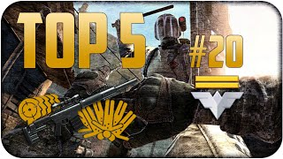 Warface Brasil: Top 5 da Semana #20/Type 97/ Cheytac /McMillan CS5 /AS-VAL / Highlight