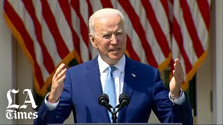 Biden announces actions to tackle gun 'epidemic' in the U.S.