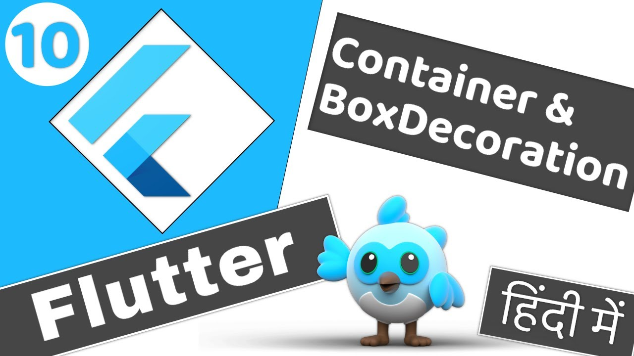 Container, Box Decoration and Gradient | Flutter 2 tutorial for beginners हिंदी में #10
