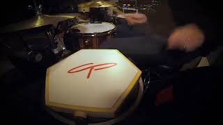 CP Artist Chris Georgenes Demos the CP Hex Pad as Aux Snare Drum
