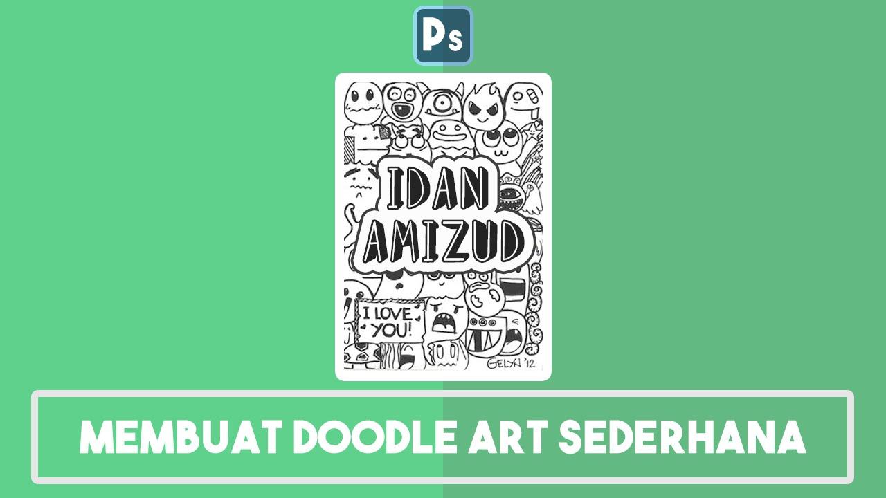 Tutorial Membuat Doodle Art Sederhana Ps
