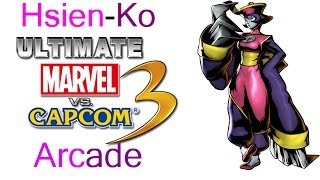 Video Ultimate Marvel VS Capcom 3 Arcade - Hsien-Ko {& The DarkStalkers Team} download MP3, 3GP, MP4, WEBM, AVI, FLV Juli 2018