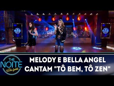 Melody e Bella Angel cantam