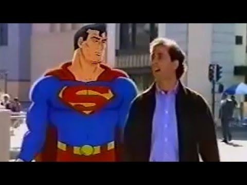 Superman and Jerry Seinfeld  American Express commercial