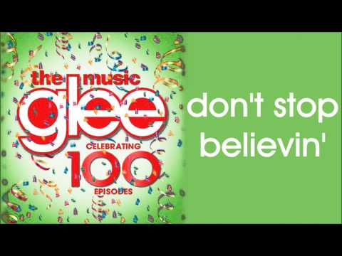 Glee - Don't Stop Believin' (Season 5 Version)