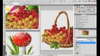 как создать коллаж в программе фотошоп