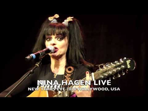 NiNA HAGEN LIVE! RODNEY BINGENHEIMER'S NEW YEARS EVE BALL, HOLLYWOOD, CA. USA 2010!!