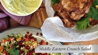 Middle Eastern Crunch Salad