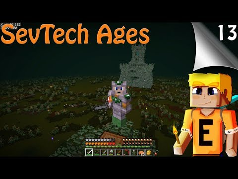 SevTech Ages EP13 - Wight Fortress & Gardian Temple