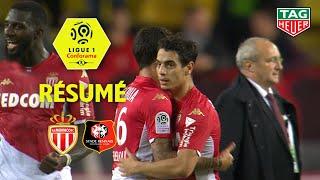 AS Monaco - Stade Rennais FC ( 3-2 ) - Résumé - (ASM - SRFC) / 2019-20