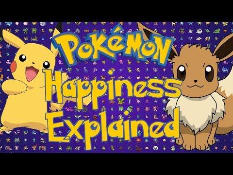 Pokemon Happiness Explained