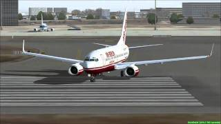 FS2004 - Flight from Palma de Mallorca to Madrid (Airport Barajas) Spain.mp4