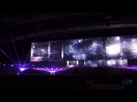 Dreamforce 2014 Opening Video Live, with Lasers