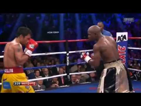 Floyd Mayweather - Manny Pacquiao II La pelea del siglo (COMPLETA)