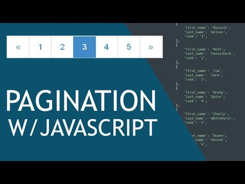 Front-End Pagination With JavaScript