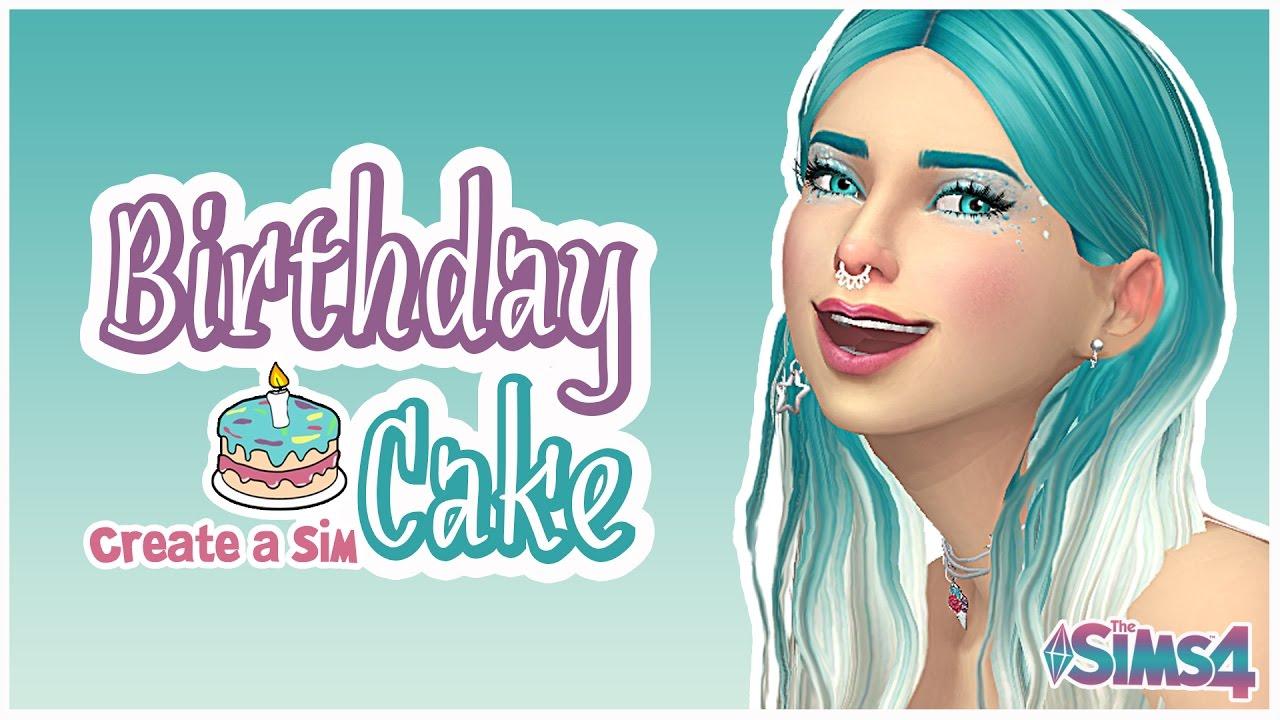 Birthday Cake Sims 4