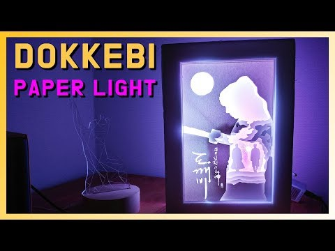 DIY l Make a DOKKEBI Paper Light BOX
