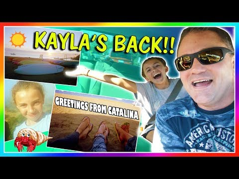KAYLA'S BACK HOME FROM SCHOOL TRIP!😀| We Are The Davises