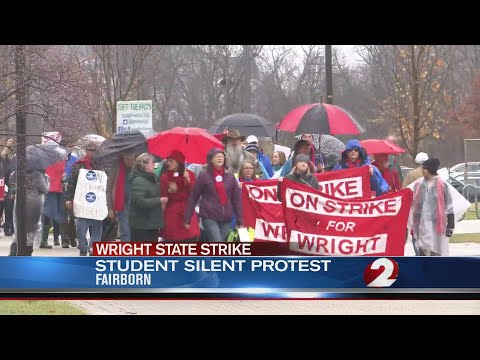 Student silent protest