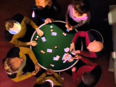 Star Trek Tng Five Card Stud Nothing Wild And The Skys The Limit