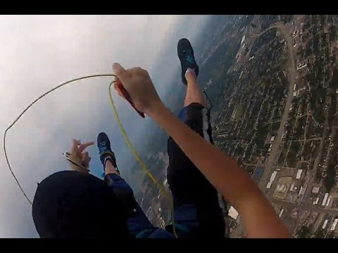 Watch The Horrifying Moment This Skydiver's Parachute Fails