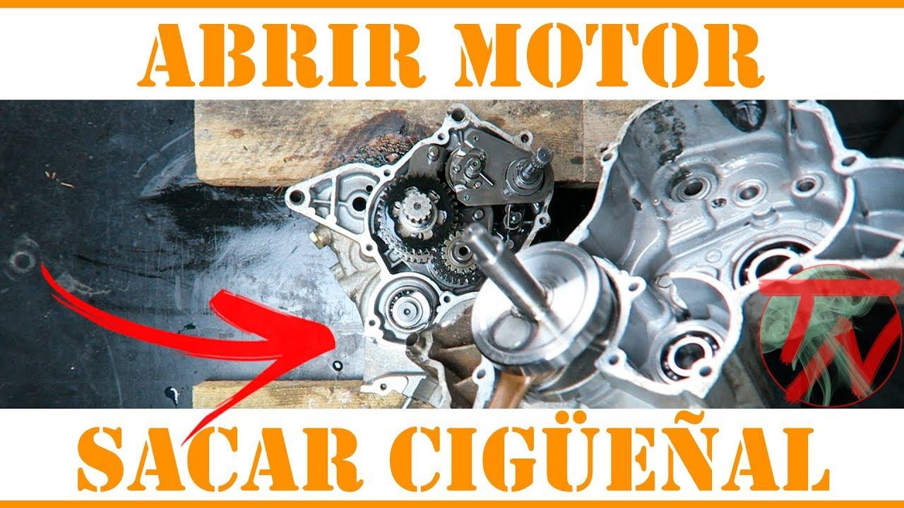 4781eeb18d2 Abrir MOTOR y sacar el CIGUEÑAL moto 🛵👨🏿 🔧 - YouTube