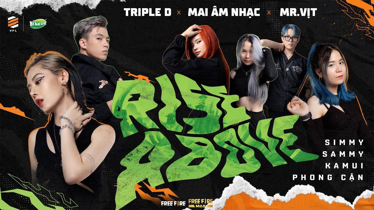 [Official MV] RISE ABOVE | TripleD x Mai Âm Nhạc x Mr.Vịt | Yomost VFL Winter 2021 Theme Song