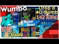 "Tetris 99 Bounty - ""Drop a 40 bomb"""