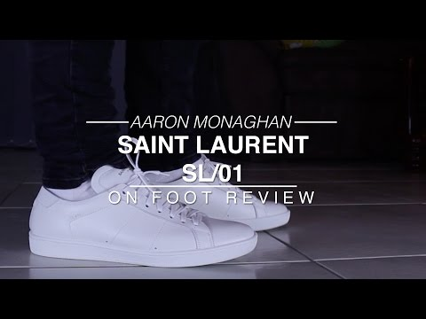 c2e9a974d86 Saint Laurent SL/01 Review & On Foot - YouTube