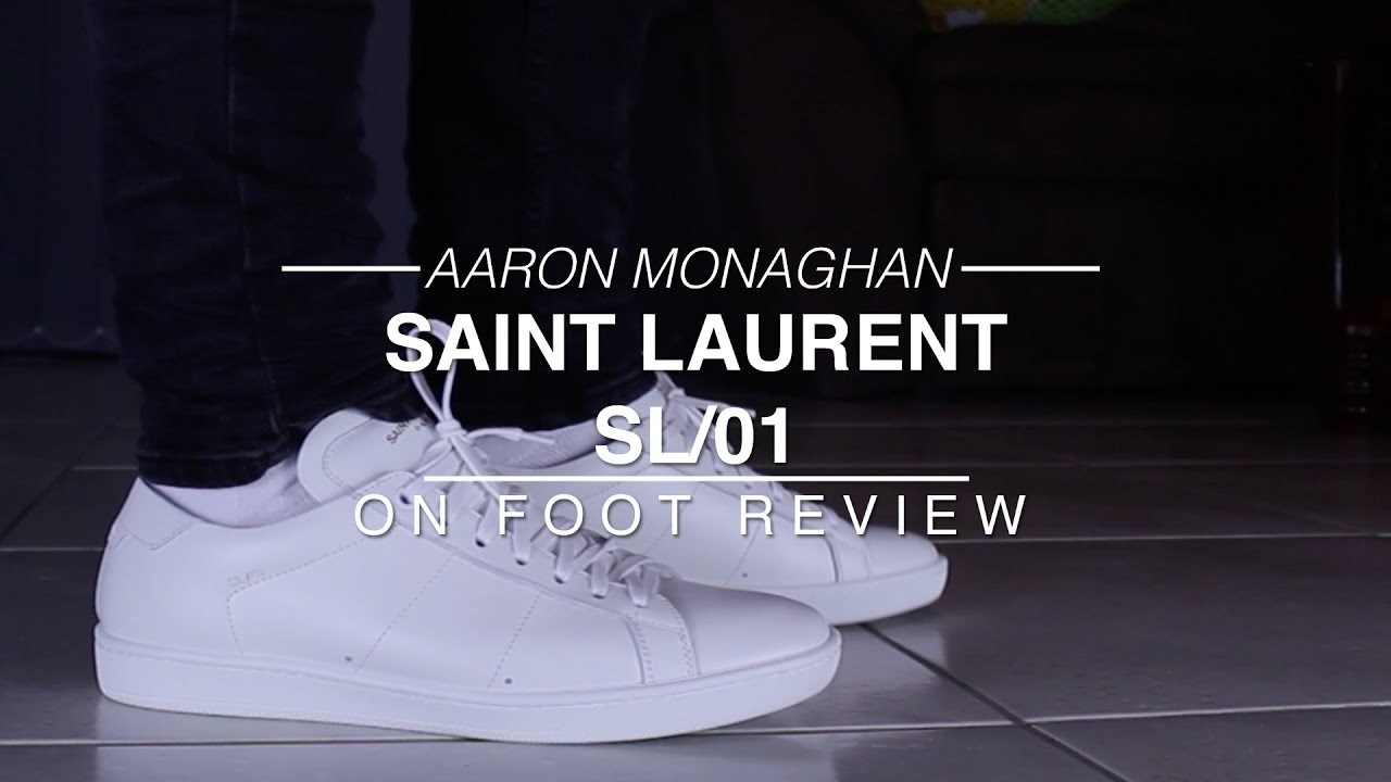 f4f1a7bbe3b Saint Laurent SL/01 Review & On Foot - YouTube
