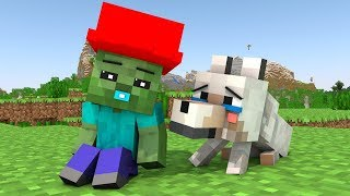 - Wolf Life 12 Minecraft Animation