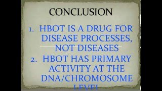 Dr. Paul Harch HBOT in Cancer Lecture