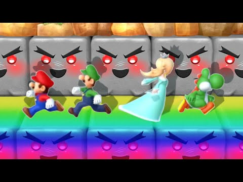 Mario Party 10 Minigames Mario Vs Luigi Vs Rosalina Vs Peach Master Cpu