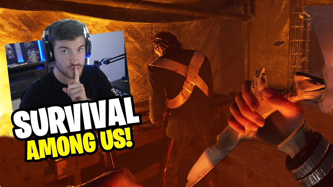 Download AMONG US but It's a Arctic SURVIVAL GAME?! - Survive & Escape from the CANNIBALS! (Dread Hunger EP1)
