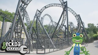 Gecko And The Rollercoaster - Educational Videos for Kids