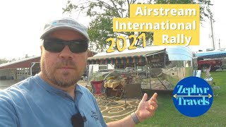 Vintage Airstreams at the 2021 Airstream International Rally, Lebanon Tennessee | RV Lifestyle