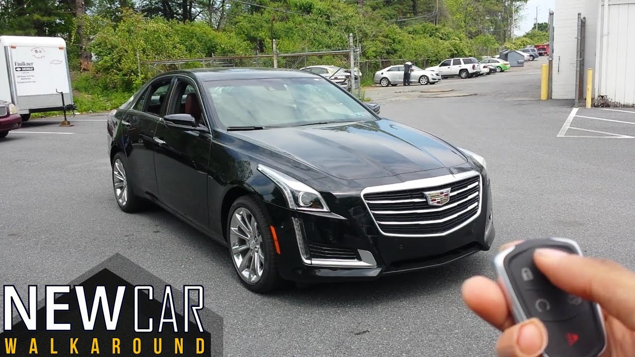 2016 Cadillac Cts Luxury Full