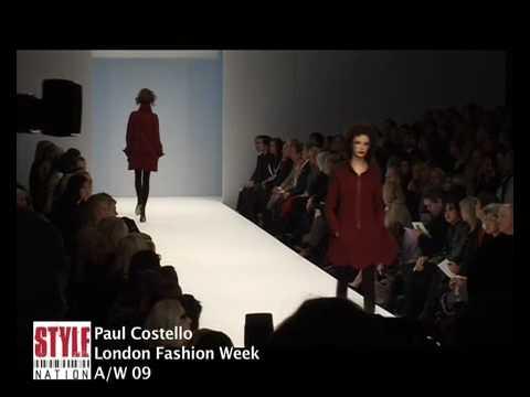 Style Nation: London Fashion Week 2009 A/W - Paul Costello