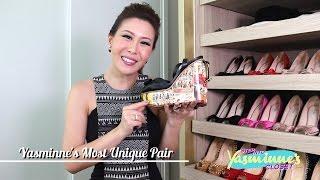 Step into Yasminne's Shoe Closet!
