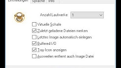 [Tutorial] Wie erstellt man ein virtuelles CD Laufwerke? - Virtual CloneDrive - Freeware - Computer