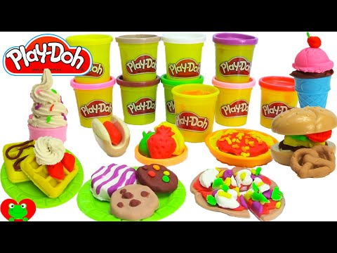 GIANT Play Doh Chef Supreme Playset 3 Meals and DESSERT